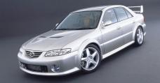 That Time Mazda Built A Twin-Turbo V6 626 To Rival The Mitsubishi Evo