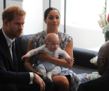 It's a woman! Prince Harry and Meghan say Archie will get a little sister