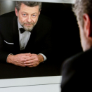 Andy Serkis used to 'stroll on all fours' for hours off set when shooting 'Lord of the Rings'