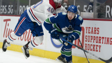 Canucks win 3rd straight, topping Canadiens 2-1 in shootout