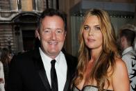 Internal Piers Morgan's marriage to wife Celia Walden