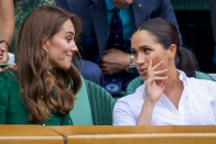 Internal Meghan Markle and Kate Middleton row about the flower girl dresses