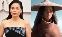 Disney's newest princess is overjoyed, according to Raya and the Dragon star Kelly Marie Tran