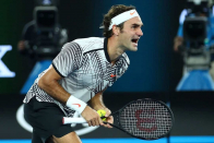 Roger Federer most up to the moment: Swiss star makes winning return after 13 months out