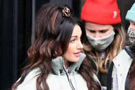 Michelle Keegan shows off incredible voluminous hair makeover on Brassic set