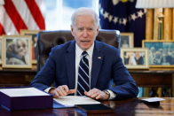 Examine dwell: Biden delivers his first primetime address on next steps in fight against Covid