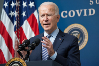 Biden will direct states to make all adults eligible for Covid vaccine by Could per chance well also merely 1