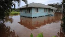 Town north of Honolulu evacuated