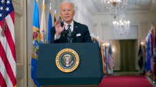 'Independence from this virus': President Biden shifts from 'darkest days' to hope on the horizon