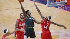 Nowell has career night, Timberwolves rout Pelicans 135-105