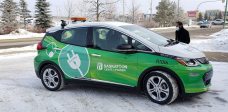 City of Saskatoon leases 4 electric vehicles to study cost financial savings, emissions