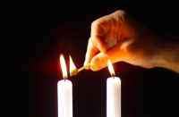 Shabbat candle-lighting fixtures times for Israel and US