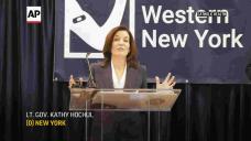 Fresh York's Lt. Governor receives COVID-19 vaccine