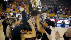 After racist attack from broadcaster, Oklahoma high school girls team wins 6th title in school history