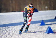The Cross-Country Skier Jessie Diggins Makes History in a Year of COVID-19 and Climate Change