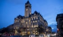 Trump's Washington hotel echoes to silence of missing Maga crowd