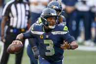 Here's a mock draft that has Bears trading for Russell Wilson
