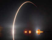 SpaceX flies Falcon 9 rocket booster for a record 9th time, delivers 3rd batch of Starlink satellites in two weeks