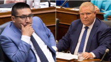 'We're from two separate political events': Ont. premier says after accusing First Nations MPP of jumping queue to get vaccine