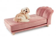 Aldi are selling luxurious chaise longues and scalloped velvet chairs for pets