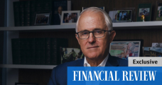 Turnbull warns on infrastructure security after 2020 'actuality check'