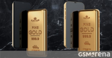 Caviar's Goldphone: an iPhone 12 Pro or Galaxy S21 Extremely that are basically 1 kg gold ingots