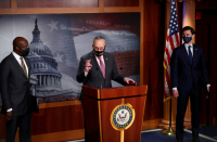 Orthodox Jewish groups thank Chuck Schumer for COVID-19 relief package
