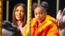 North West, 7, Looks Adore Mother Kim Kardashian's Mini Me In Sweet New Pic: 'Somewhat Lady'