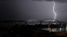 Extreme storms, tornadoes moving through the South. Folks are sharing stunning photography, movies.
