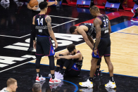 Sixers coach Doc Rivers gives update on Seth Curry after ankle injury