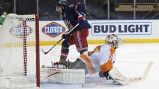 Zibanejad has 3 desires, 3 assists as Rangers rout Flyers 9-0
