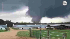 A severe tornado touched down in Wayne County, Mississippi, and left damage in its wake