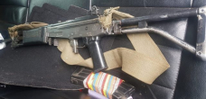 Assault rifle seized from students 'closely resembles SADF's R4'