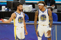 Hurt Inform: Steph Curry (tailbone) and Kelly Oubre Jr. (foot) doubtful vs. Grizzlies