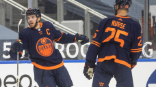 McDavid scores twice, Oilers beat Jets to tie for North lead