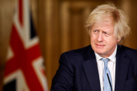 UK PM Johnson gets his first dose of AstraZeneca vaccine
