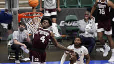 Stewart, Molinar lead Mississippi St. by Saint Louis in NIT