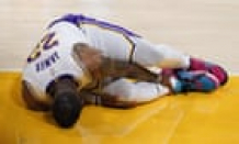 LA Lakers star LeBron James out indefinitely with high ankle sprain