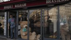 AP PHOTOS: Bookseller keeps Paris plush with teddy bears