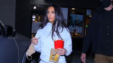 Kim Kardashian Hits McDonald's For Dull Night Rush Amid Kanye West Divorce Drama