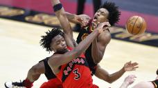 Sexton scores 36, Cavs hand Raptors eighth straight loss