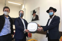 COVID-19: Ahead of Passover, Chabad gets Israeli air purifiers