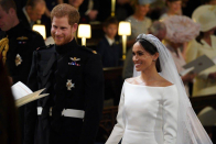 Prince Harry and Meghan did NOT marry three days before wedding