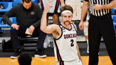 Gonzaga's Drew Timme and his handlebar mustache became a meme during win