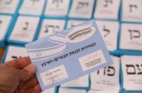 Israel Elections: Politicians, public figures, cast their ballots