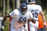 Steelers agree to terms with former Bears G Rashaad Coward