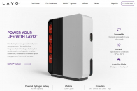 LAVO Hydrogen Home battery has a 40kWh capacity, costs $34,750