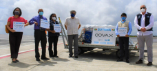 Guyana receives first shipment of COVID-19 vaccines through COVAX mechanism