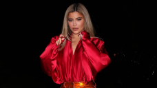 Kylie Jenner Turns Heads In Skintight 'Alien' Fluorescent Bodysuit On Evening Out In LA