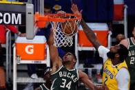 Bucks-Lakers recap: Milwaukee rolls in Drummond's short debut